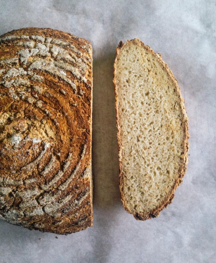 sourdough bread crumb