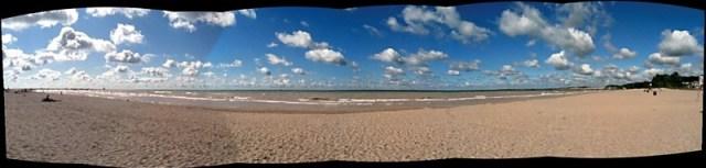 Port Stanley Beach Panorama