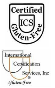 Gluten-Free Certification by ICS - International Certification Services, Inc.