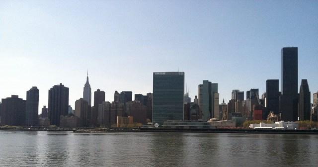 New York City from Long Island City