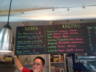 Palenque menu