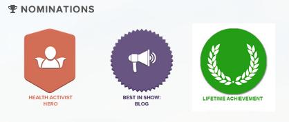 WEGO Health Awards 2014 Nominee