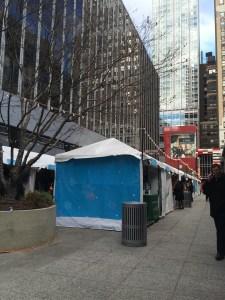 Hester Holiday Market, One Penn Plaza, NYC