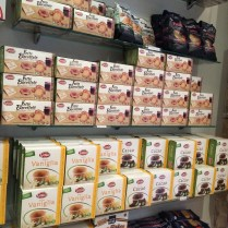 Huge selection of gluten-free food