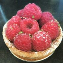 Raspberry tartlette!