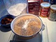 Measuring the dry ingredients