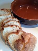 GF Bread - ready to tear