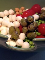 Olives into the mix - went with green