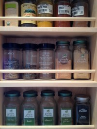 Some of the shelf cupboard