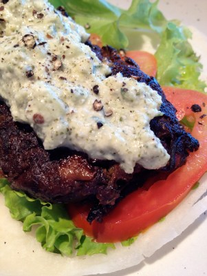 Topped with Tzatziki Sauce