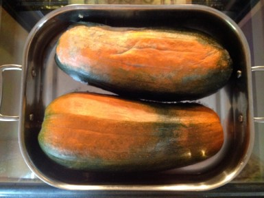 "Organic ""Long Pie"" an heirloom variety"