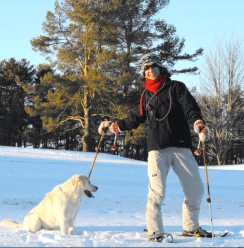 Snowshoeing with Jazz