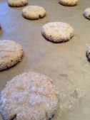Scent of toasted cookies cooling