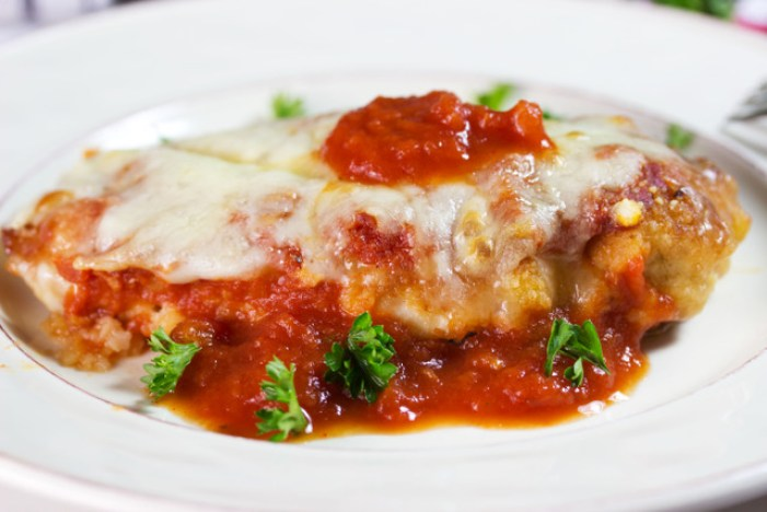 gluten free chicken parmigiana recipe