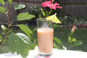 gluten free, paleo, tropical smoothie