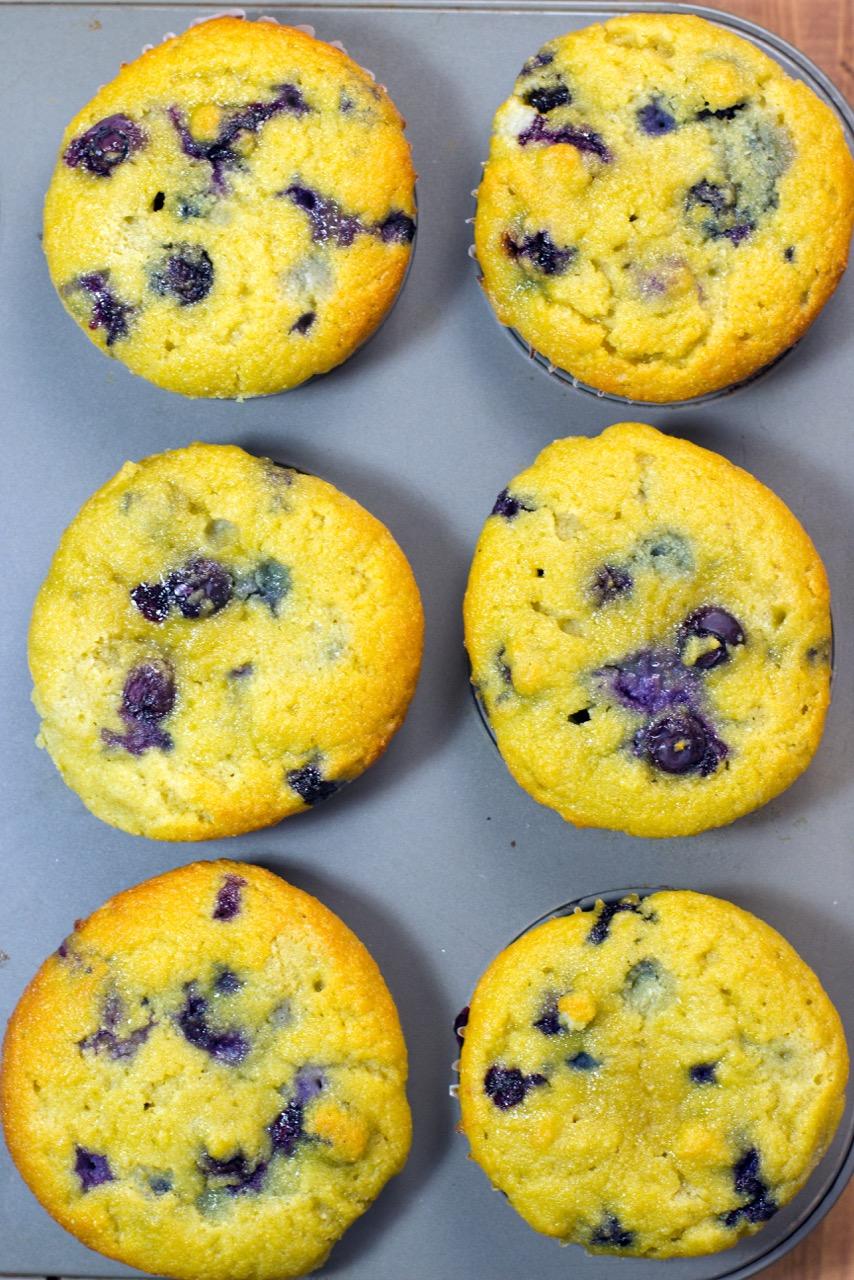 pan full of muffins