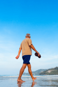 Getting healthier with a walking routine