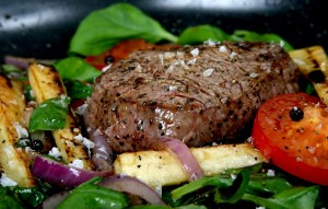 Getting Healthier By Increasing Our Protein Intake (Steak dinner)