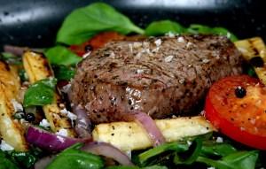 Getting Healthier By Increasing Our Protein Intake (Steak dinner)