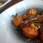 Thai Salmon Salad at Chilli Banana Liverpool | Gluten Free Thai Food in Liverpool at Chilli Banana