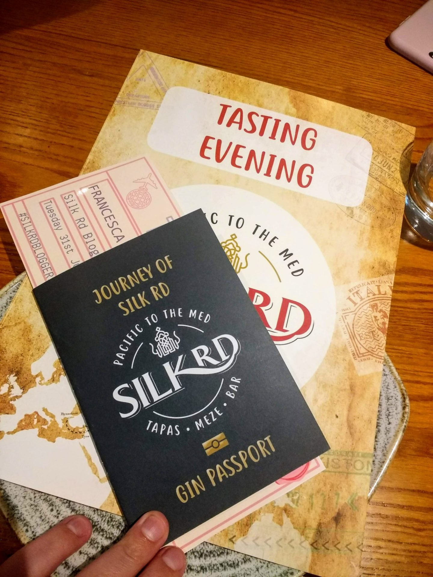 Exploring Gluten Free Tapas at Silk Rd*