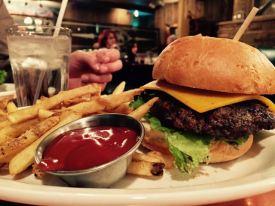 Burger! at the Cowboy Club. Club