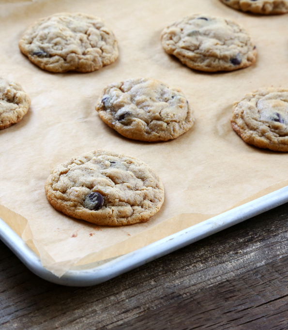 Gluten Free Soft Batch Peanut Butter Oatmeal Chocolate Chip Cookies