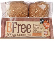 Brown Seeded gluten free Rolls