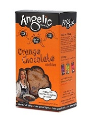 Gluten free snacks Orange Chocolate Cookies