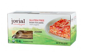 Brown Rice Lasagna, Organic and Gluten Free Lasagna Noodles