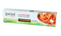 Jovial Organic Brown Rice Pasta, one of the best egg free pasta brands
