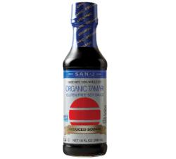 San-J Organic Reduced Sodium Gluten Free Tamari Soy Sauce