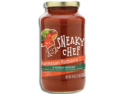 The Sneaky Chef Parmesan Romano Pasta Sauce