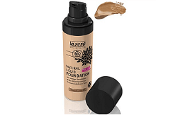 Lavera Natural Liquid Foundation Almond Amber
