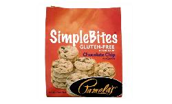 Pamela's Products Gluten Free Simplebites Mini Cookies, Chocolate Chip
