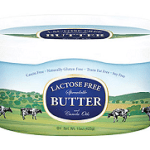 Lactose free butter