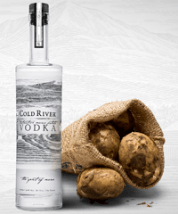 Cold River Handcrafted Maine Potato Vodka