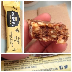 Primal Kitchen Bars Wooden Table Product Review Almond Cashew Paleo Bar By The A Tasty And Filling Snack Made I Have Reviewed Brazil Nut Cherry On My Blog Found That To Be Quite Heavy But Maybe