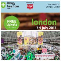COMING SOON: The World's Largest Free-From Food Fair @Olympia, London FREE TICKETS>>>>>