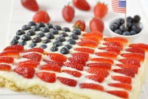 Flag Gluten Free Rice Krispy Treats