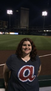 An image of myself at BB&T Ballpark in Charlotte, NC