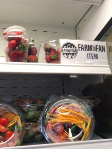 Image of Farm to Fan strawberry fruit trucks