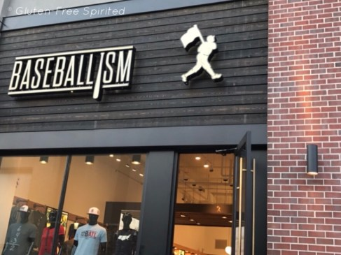 A picture of Baseballism's storefront.