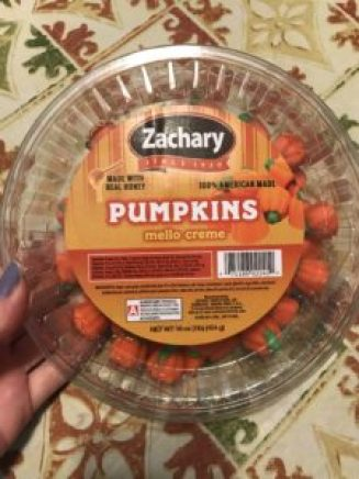 Zachary's Pumpkins are gluten-free, soy-free, and dairy-free Halloween candy.