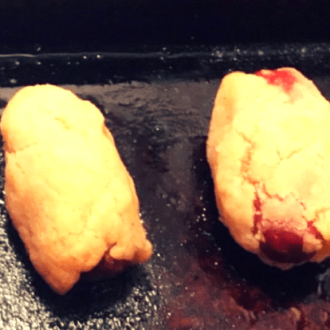 Gluten-free, soy-free, dairy-free pigs in a blanket
