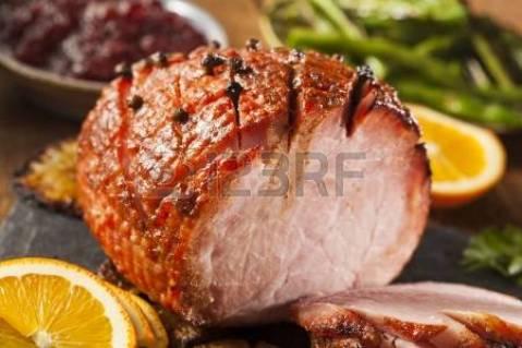 Holiday Honey Glazed Ham