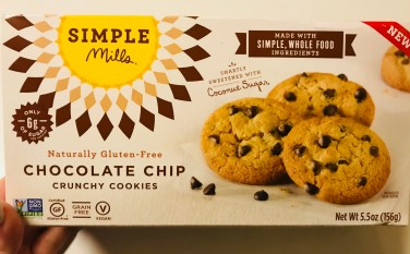 Simple Mills Chocolate Chip cookies