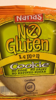 Nana's No Gluten Lemon Cookie