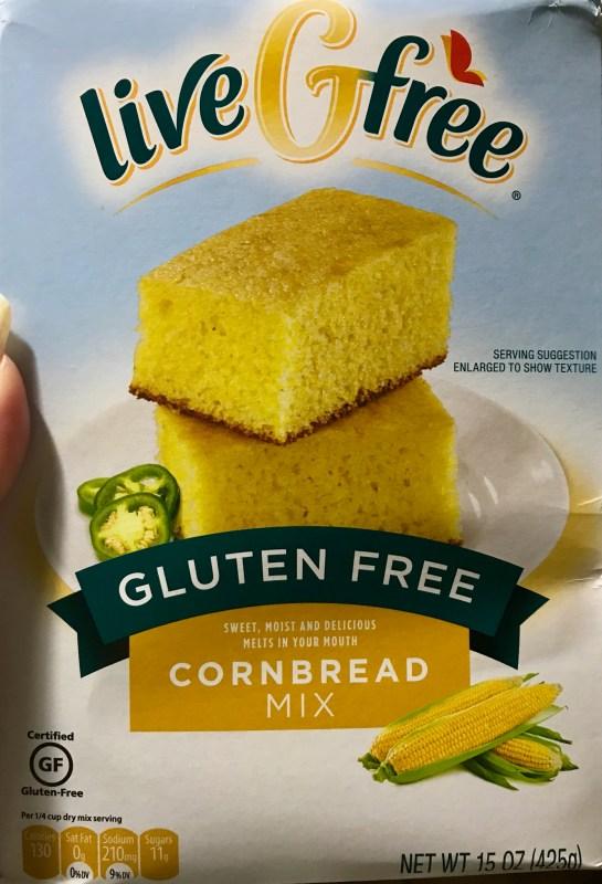 Live G Free Cornbread Mix