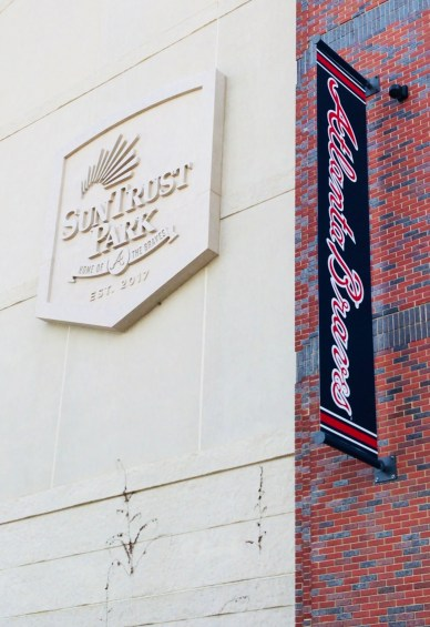 Suntrust Park sign